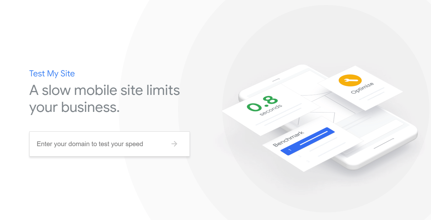 Google's TestMySite update