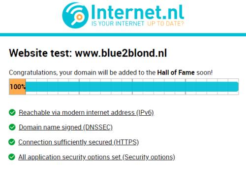 onze internet.nl score