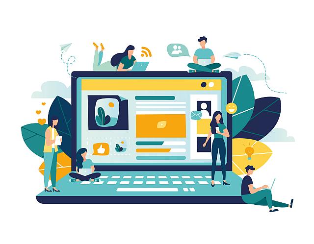 Websites met fundamentele focus op de techniek